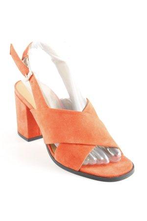 "Edited Strapped High-Heeled Sandals ""Manda"""