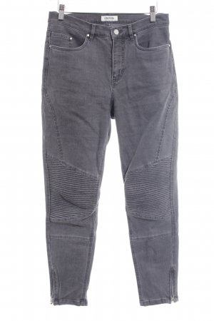 Edited Jeans cigarette gris style mode des rues