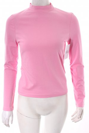 Edited Turtleneck Shirt pink classic style