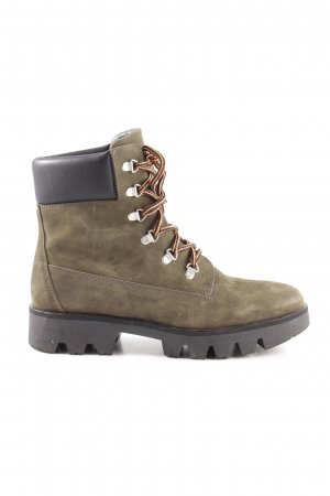 Edited Lace-up Boots multicolored athletic style