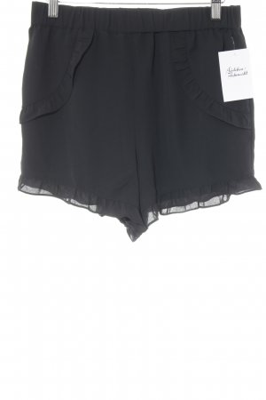 Edited Shorts schwarz Party-Look