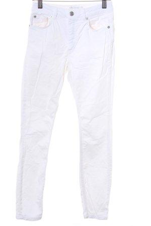 Edited Skinny Jeans wollweiß Casual-Look