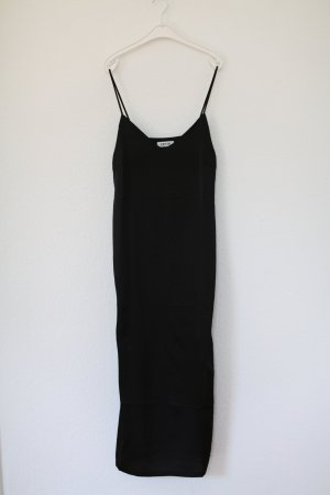 Edited Slip Dress Kleid schwarz Maxi Gr. M wie neu Vintage Look