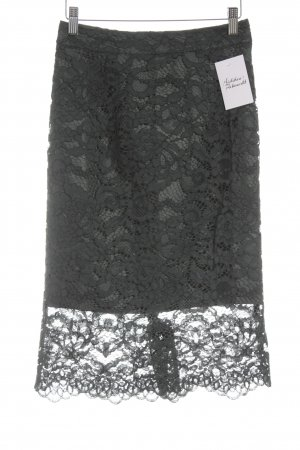 Edited Lace Skirt dark green elegant