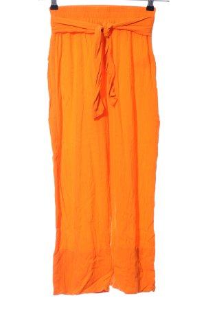 Edited Stoffhose orange Casual-Look