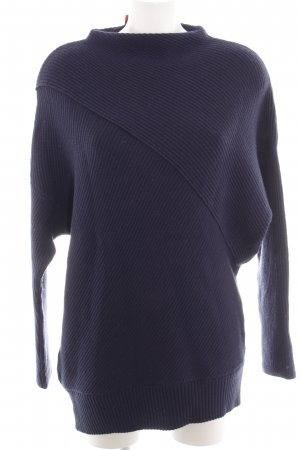 Edited Strickpullover blau Casual-Look