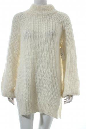 Edited Strickpullover creme Casual-Look