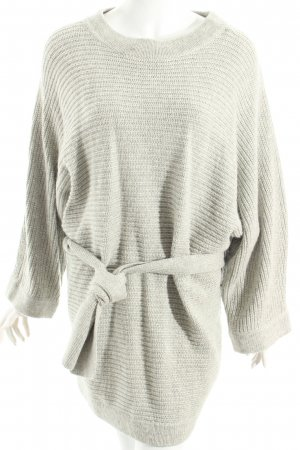 Edited Strickpullover hellgrau Casual-Look