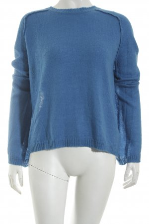 Edited Strickpullover kornblumenblau Casual-Look