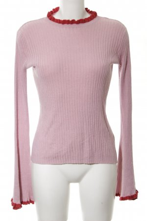 Edited Strickpullover pink-rot Casual-Look