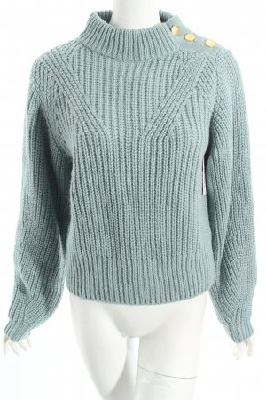 Edited Strickpullover türkis Casual-Look