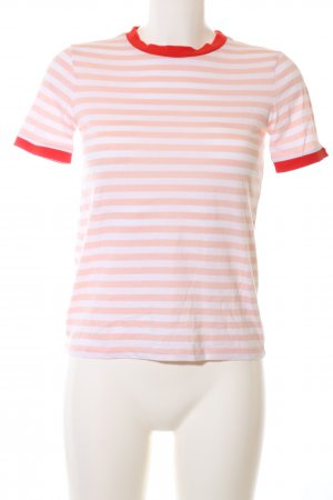 Edited T-Shirt Streifenmuster Casual-Look