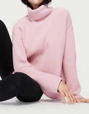 EDITED the label Cashmere Jumper 'Allegra' 34 in Rosa Kaschmirpullover