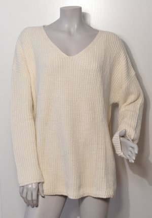 EDITED the label Grobstrick Pullover EMMA offwhite Gr. 40 FAST WIE NEU