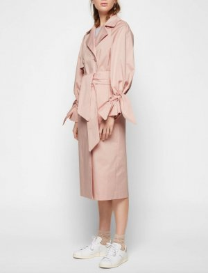 EDITED the label Helena Trenchcoat in Rosa Trench Coat XS
