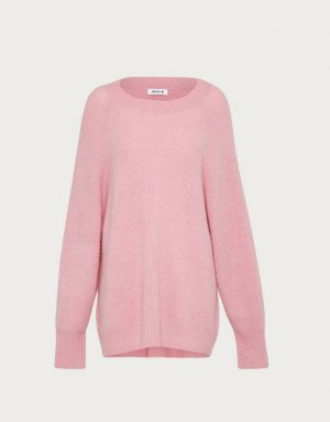 "EDITED the label ""Lorena"" Mohairpullover Sweater Strickpullover Rosa"