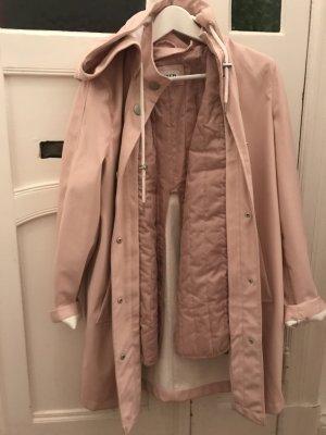 EDITED the label Regenmantel in Rosa Rain Coat Pink S EDITED Regenjacke Rita