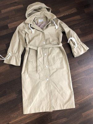 Edited Trench beige-bianco