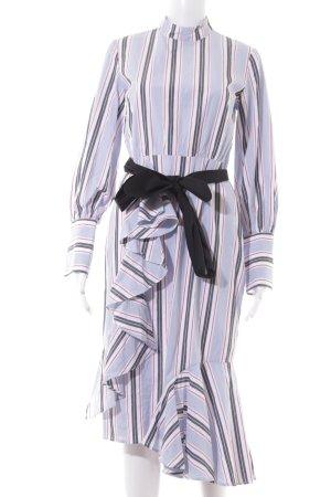 Edited Robe à volants motif rayé style Boho