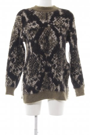 Edited Wollpullover mehrfarbig Casual-Look