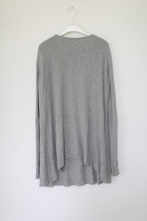 Edited x Luma Grothe Knit Pullover Long Strickpullover grau Vintage Look Gr M