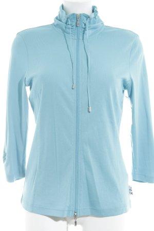 Edition F Veste chemise bleu clair style athlétique