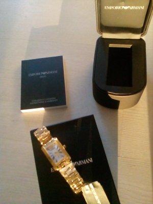 Edle Armani Uhr gold