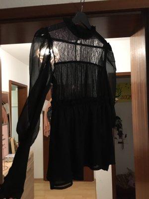 Asos Blusa trasparente nero