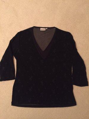 Hennes Blouse transparente noir