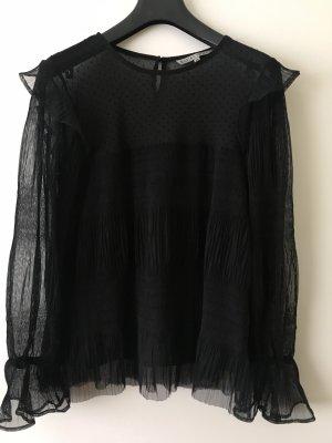 Edle Bluse schwarz