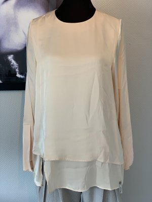Cotton Candy Glanzende blouse nude Viscose