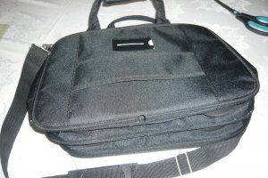 Samsonite Laptop bag black textile fiber