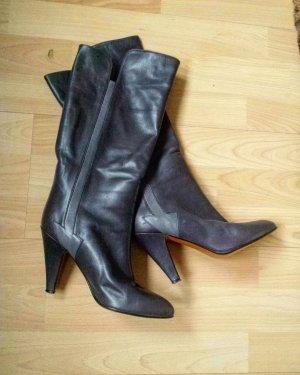 Edle Casadei Stiefel Vintage Boots Grau w.Neu zum Krämpeln gr 36 NP 899 Euro
