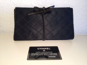 Edle CHANEL Clutch mit Lederband