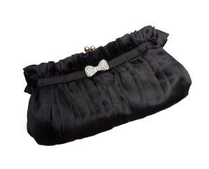 Edle Clutch / Abendtasche auch zum Umhängen mit Schnappverschluss