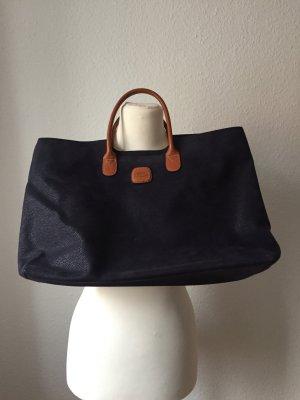 Edle dunkelblaue Bric's Handtasche