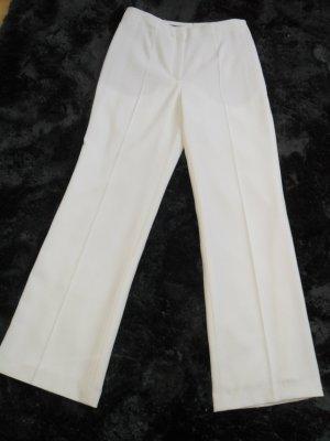 Escada Pantalon Marlene blanc laine vierge