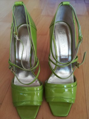 Escada Pumps lichtgroen