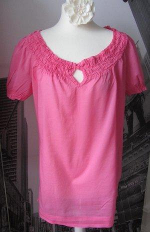 edle ESPRIT Bluse / Tunika Gr.40 Pink wenig getragen