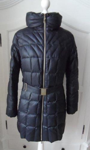 edle ESPRIT Daunenjacke Jacke Gr. 40 Dunkelblau wenig getragen