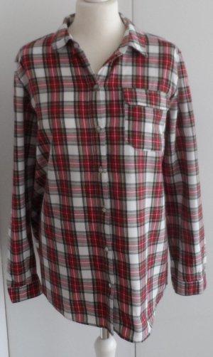 edle ESPRIT Karo Bluse Gr. 40 wenig getragen