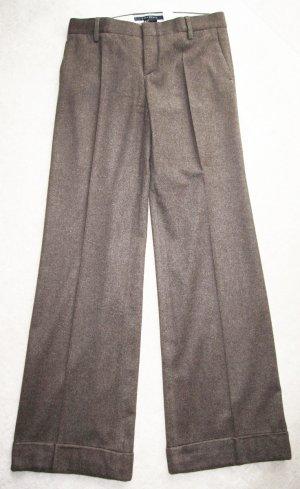 edle Falten-Hose aus Wolle von Zara in 38