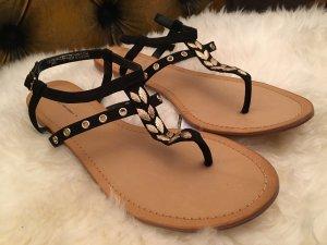 Edle Feder Sandaletten ❤neu❤