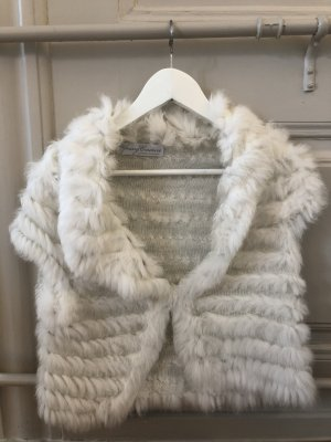 Young Couture by Barbara Schwarzer Bontgilet wit-wolwit