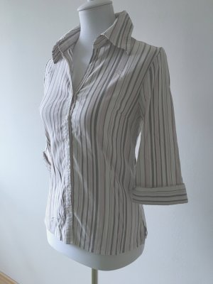 Edle gestreifte Business Bluse