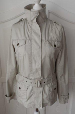 Gina Benotti Safari Jacket oatmeal cotton
