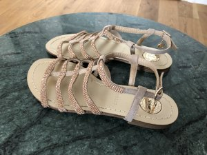 Strapped Sandals rose-gold-coloured
