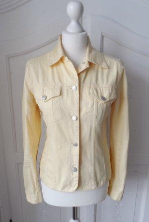 edle H&M Hennes Jeansjacke Gr. 38 Gelb nur 2 x getragen