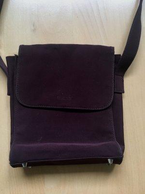Guess Canvas Bag bordeaux-purple