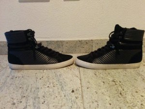 Edle High top Sneaker black